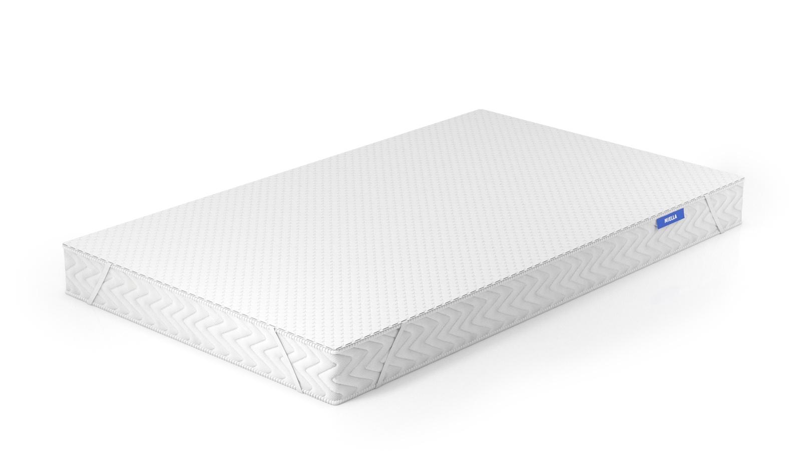 Наматрасник MIELLA Aqua Stop Lux, 200х190 см, непромокаемый, трикотаж, мембрана белый MIELLA