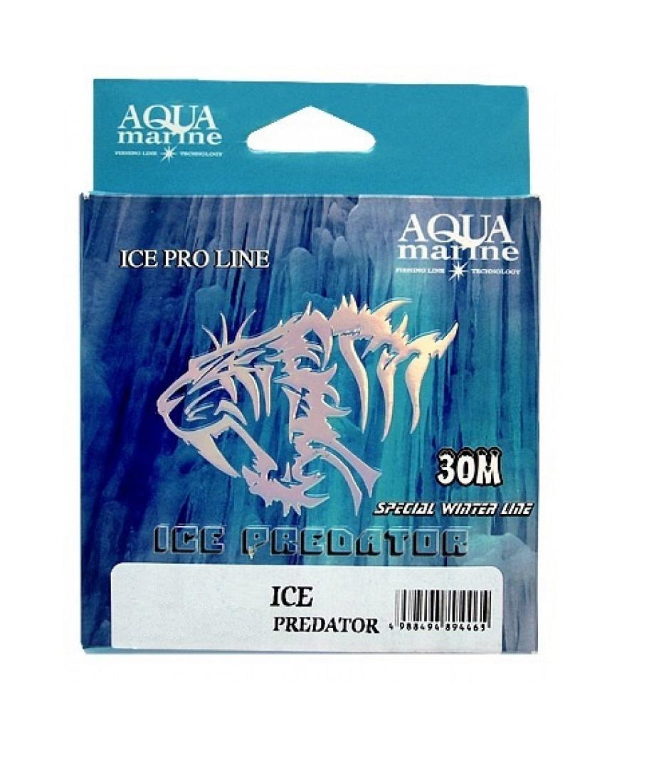 Леска для рыбалки Aqua marine ICE PREDATOR, прозрачный