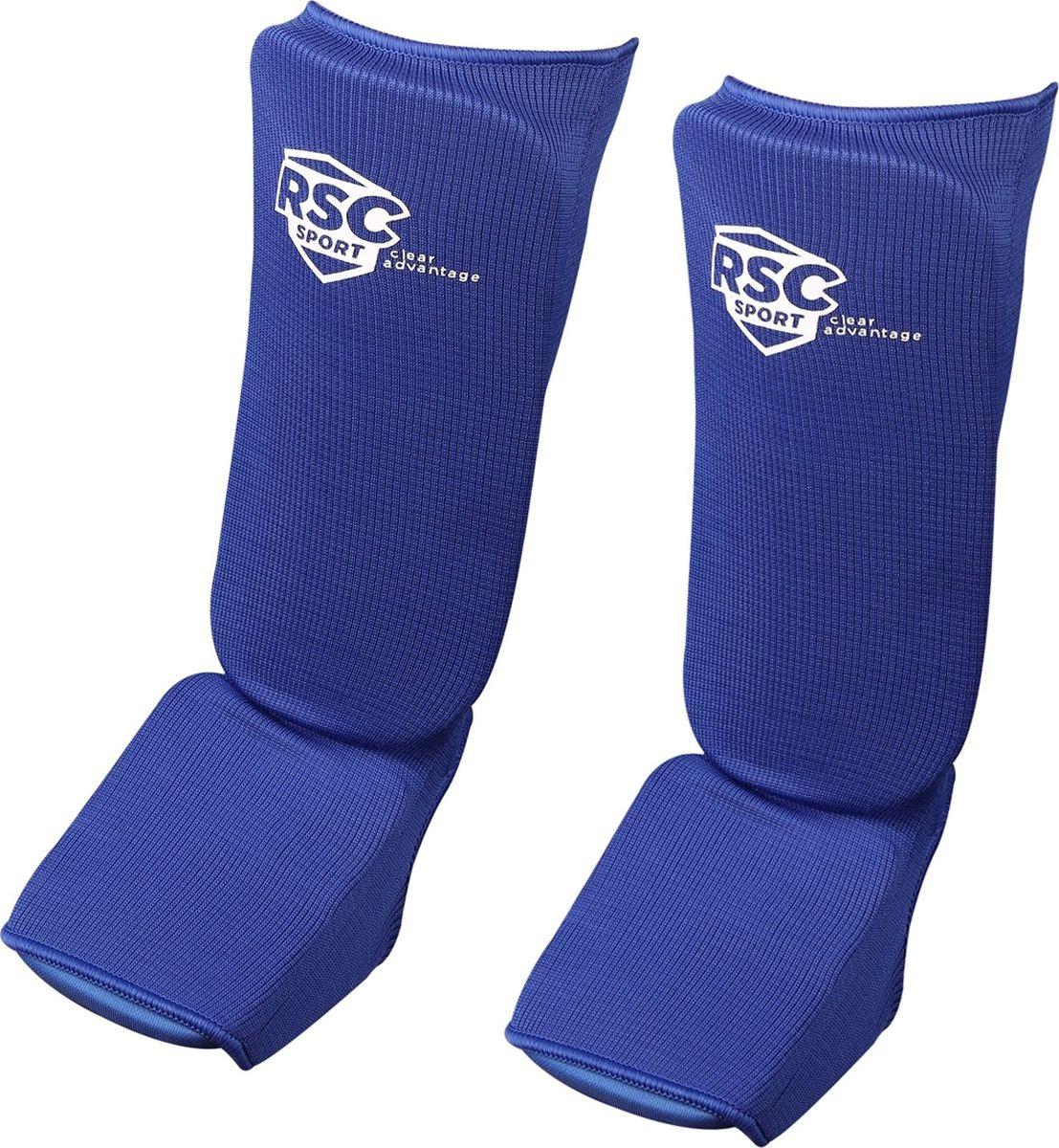 Защита голеностопа RSC, RSC001, синий, размер L adidas защита голени pu shin guard