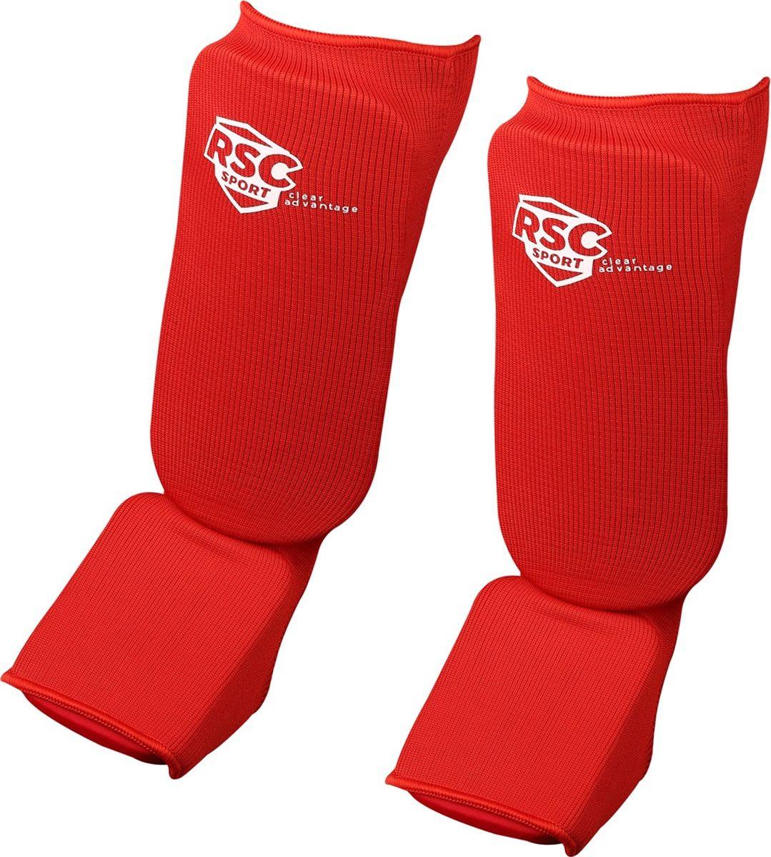 Защита голеностопа RSC, RSC002, красный, размер L adidas защита голени pu shin guard