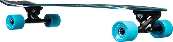 Лонгборд Quiksilver Hold Down, EGLHOLDDWN-BMJ0, черный, голубой цена