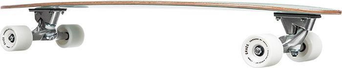 купить Лонгборд Quiksilver Minibu Skate Turq, EGL0MINIBU-GJN0, голубой, синий по цене 10194 рублей