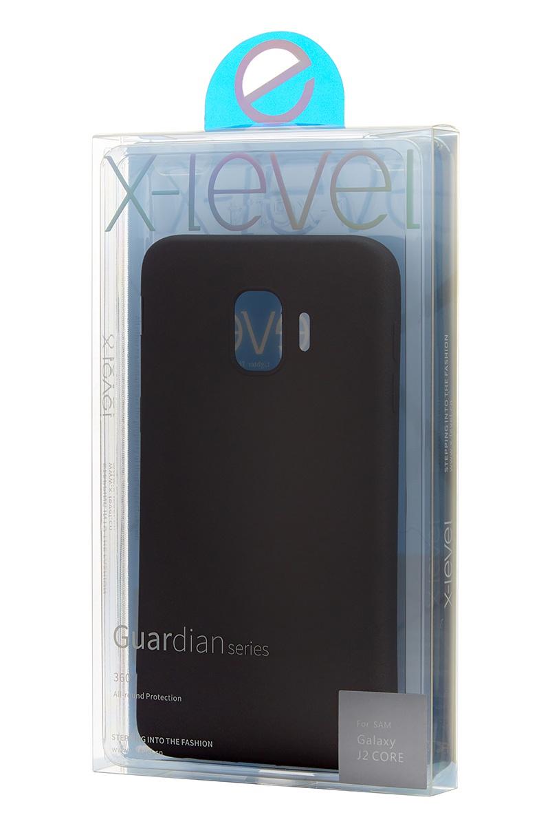 Чехол для сотового телефона X-Level Samsung J2 Core 2018, черный