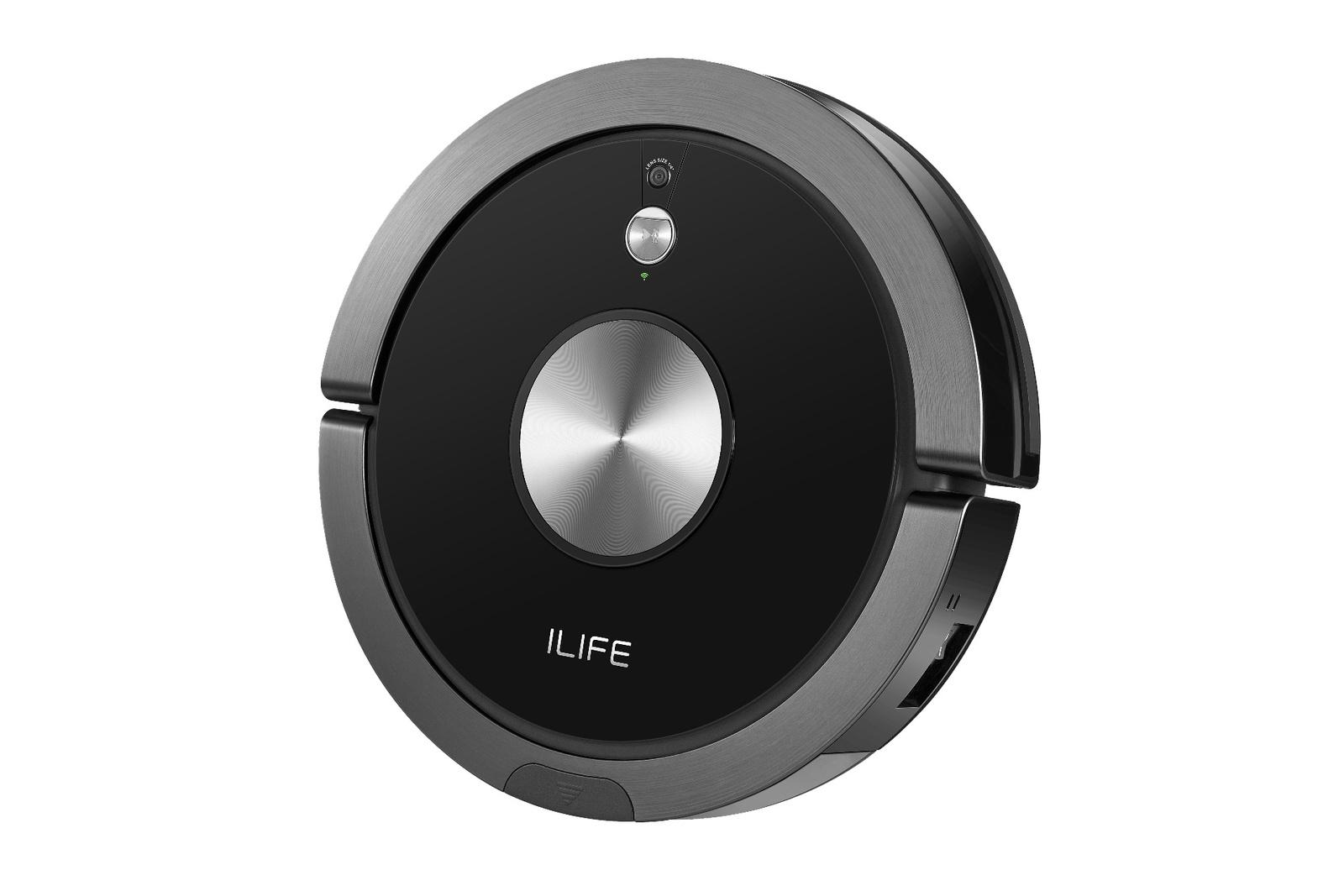 Робот-пылесос iLife A9s, черный