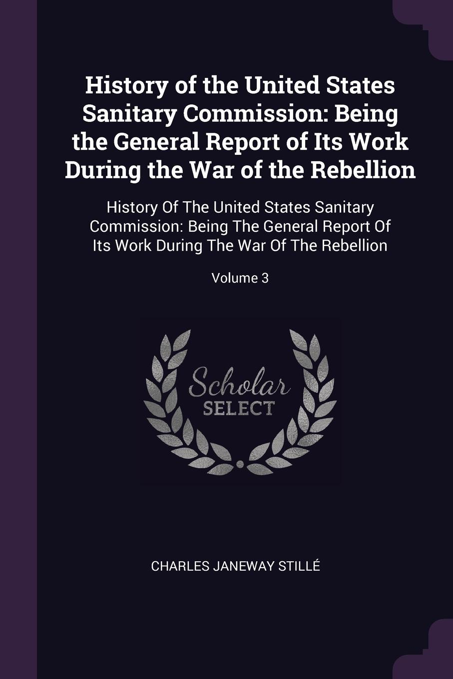 Charles Janeway Stillé History of the United States Sanitary Commission. Being the General Report of Its Work During the War of the Rebellion: History Of The United States Sanitary Commission: Being The General Report Of Its Work During The War Of The Rebellion; Volume 3 work the