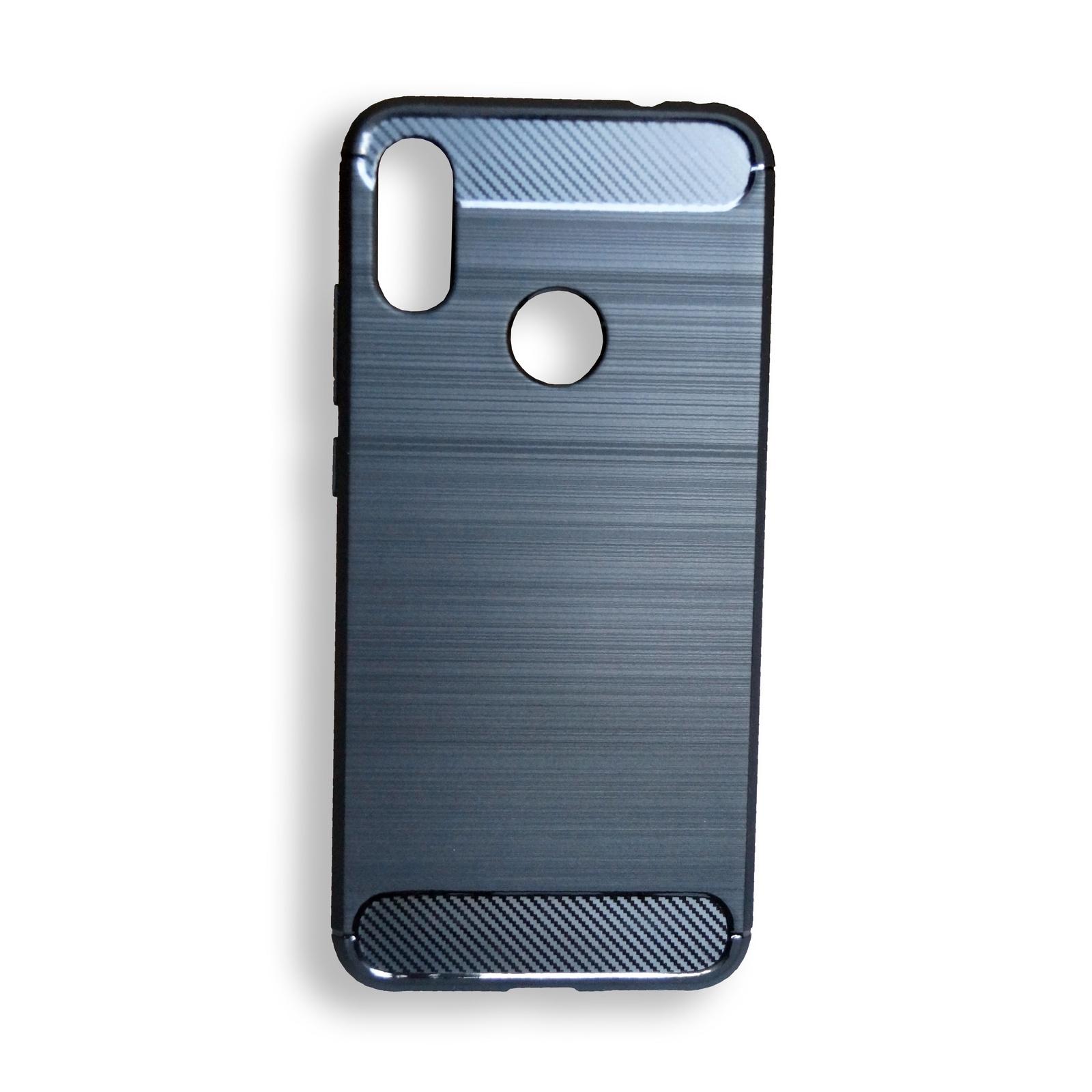 Чехол для сотового телефона Противоударный полиуретановый чехол для Xiaomi Redmi Note 7, черный