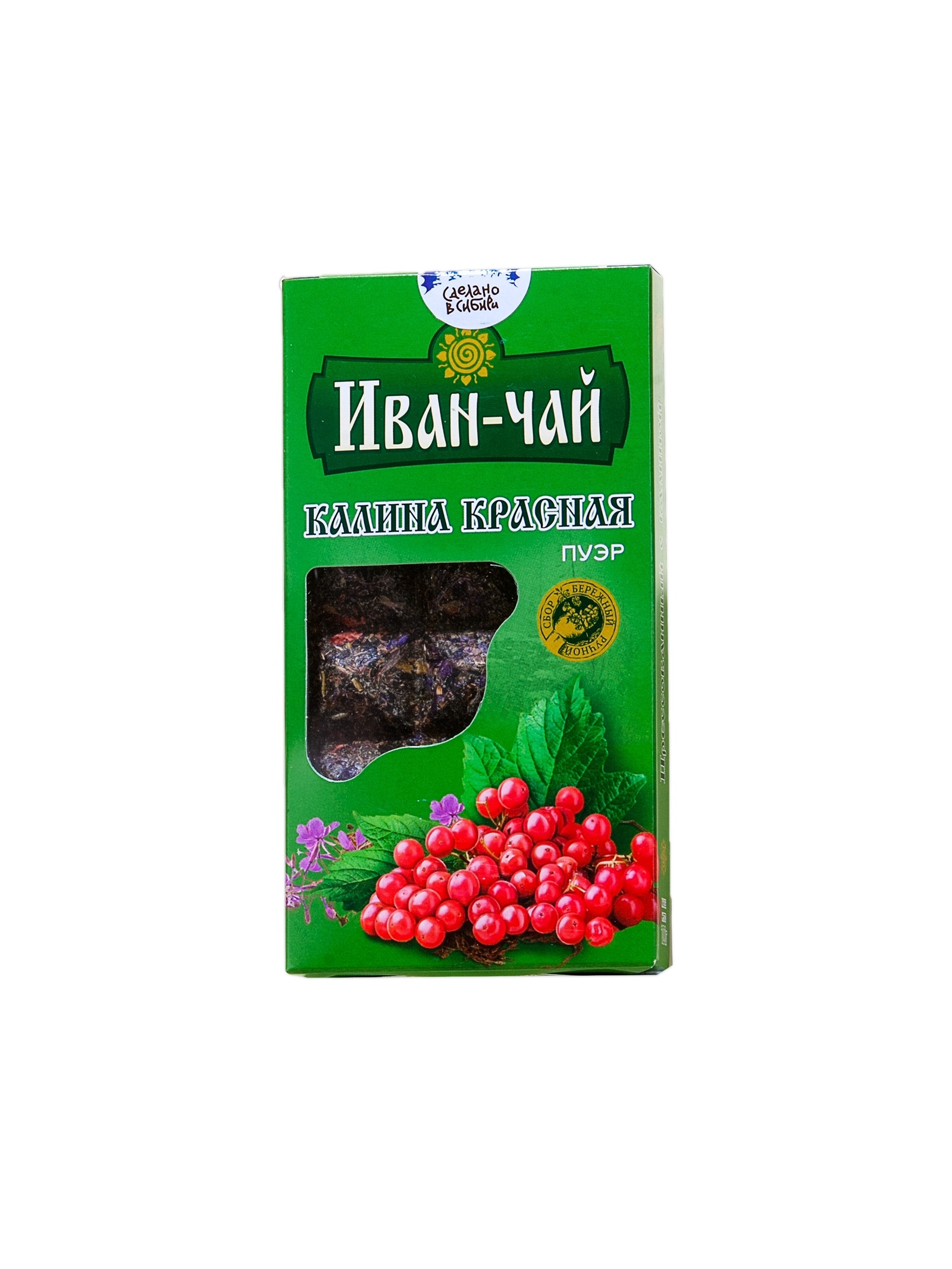 Чай листовой Река жизни Калина красная, Калина, 100 иван ярославов река любви