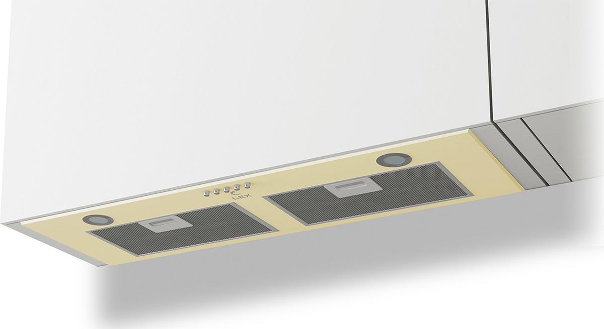 Вытяжка встраиваемая Lex GS Bloc P 900, слоновая кость цена и фото