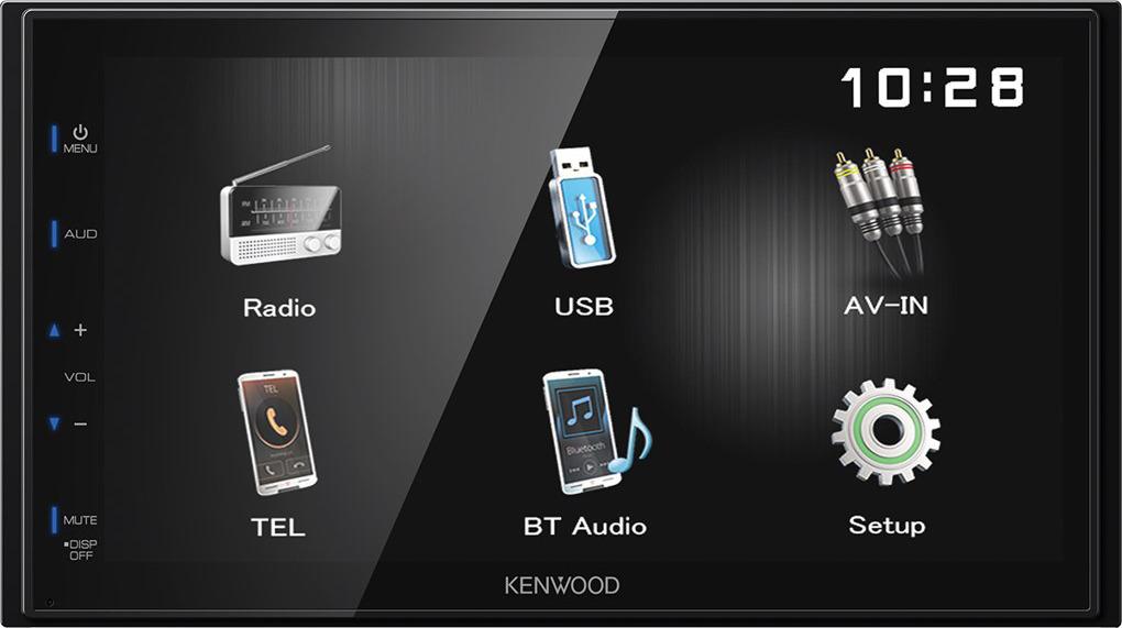 Автомагнитола Kenwood DMX110BT автомагнитола kenwood dmx110bt