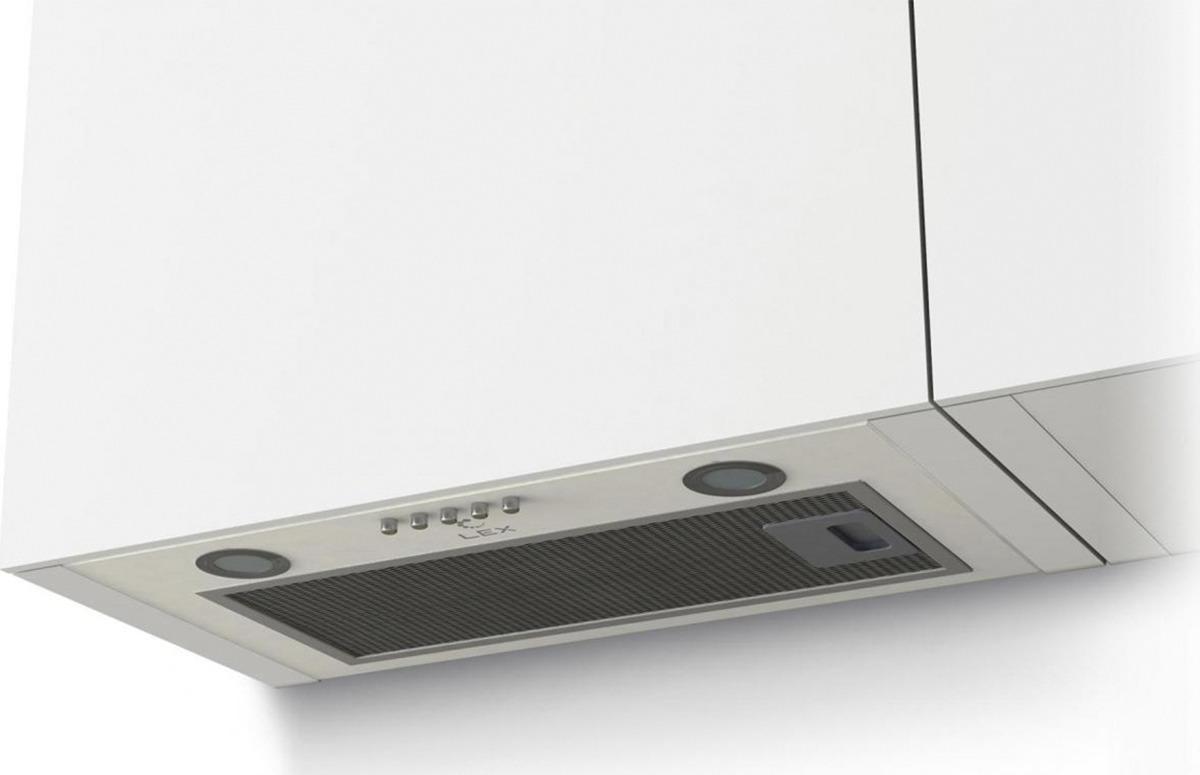 Вытяжка встраиваемая Lex GS Bloc P 600, белый