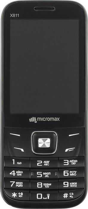 Мобильный телефон Micromax X811, черный цена