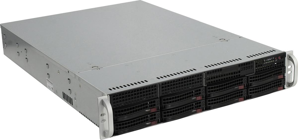 Корпус SuperMicro CSE-825TQC-600LPB, черный SuperMicro