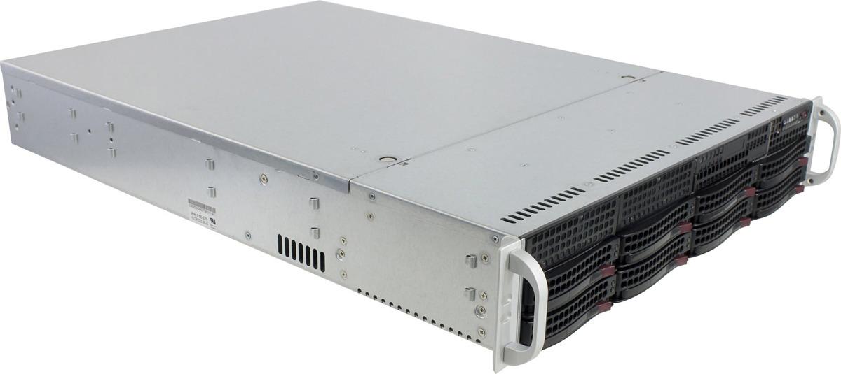 Корпус SuperMicro CSE-825TQC-R740LPB, черный