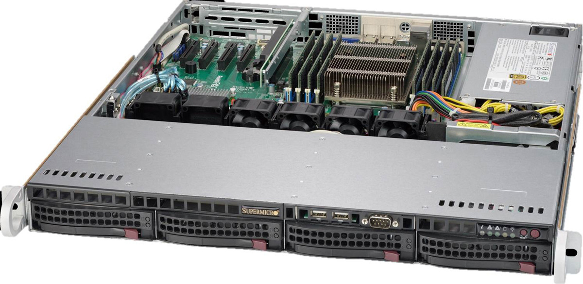 Платформа SuperMicro SYS-5019S-MR