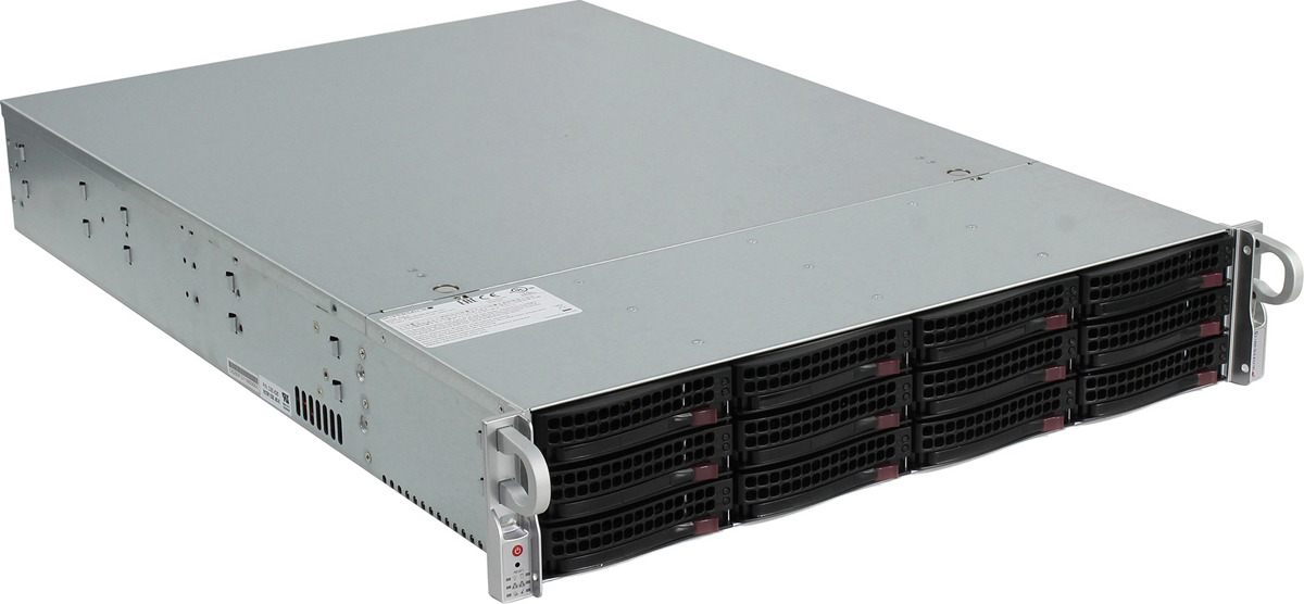 Платформа SuperMicro SSG-6028R-E1CR12N сервер в 1 6