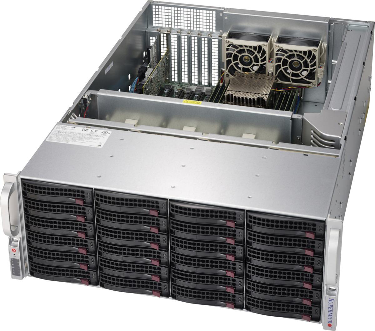 Платформа SuperMicro SSG-6049P-E1CR24H цена и фото