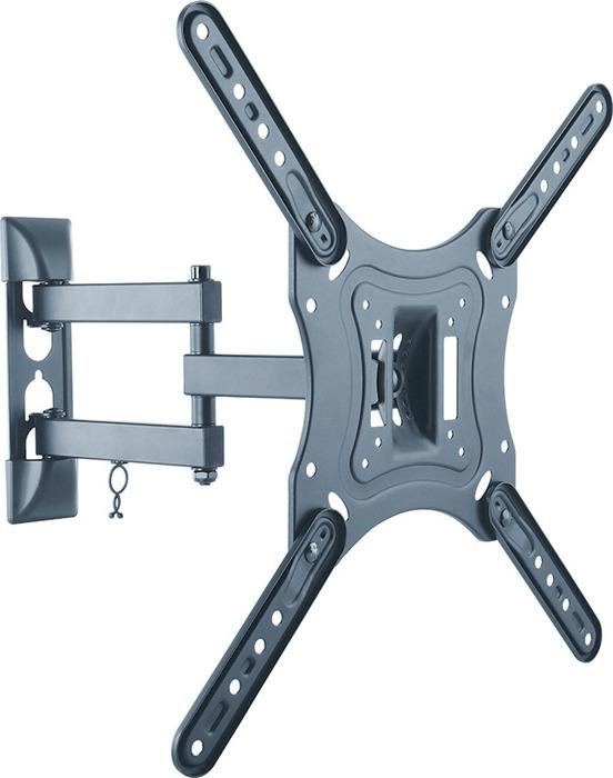 Кронштейн для телевизора Ultramounts UM 870, черный кронштейн для телевизора ultramounts um 870 черный 23 55 макс 30кг настенный поворот и наклон