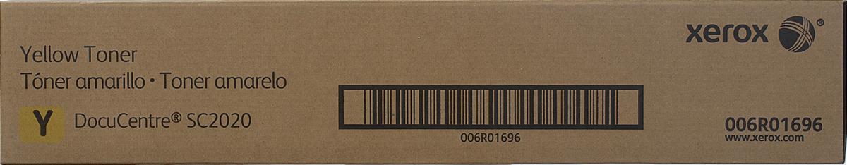 Картридж Xerox 006R01696, желтый, для лазерного принтера, оригинал