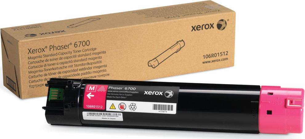 Картридж Xerox 106R01512, пурпурный, для лазерного принтера, оригинал