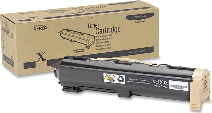 Картридж Xerox 113R00668, черный, для лазерного принтера, оригинал
