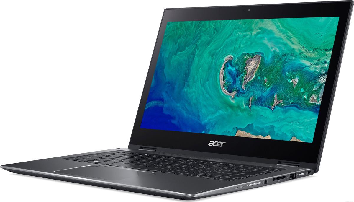 13.3 Ноутбук Acer Spin 5 SP513-53N NX.H62ER.003, темно-серый дозатор д жидкого мыла primanova akik bej керамика бежевый