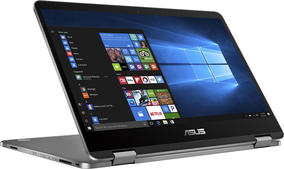 Ноутбук ASUS VivoBook Flip TP401CA 90NB0H21-M02870, серый как проверить ноутбук