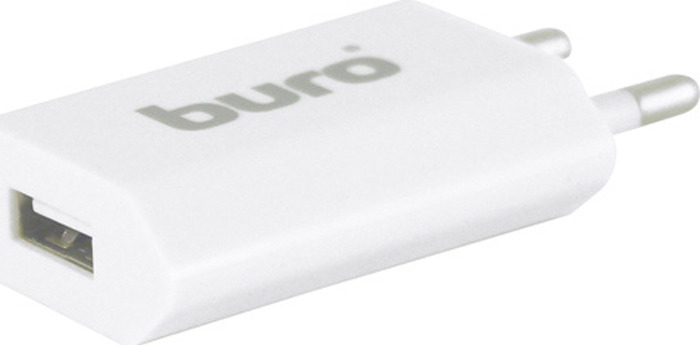 Сетевое зарядное устройство Buro TJ-164w 1A, белый стоимость