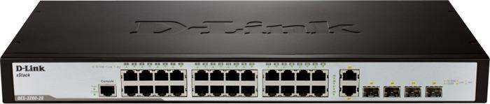 Коммутатор D-Link, DES-3200-28P/C1A