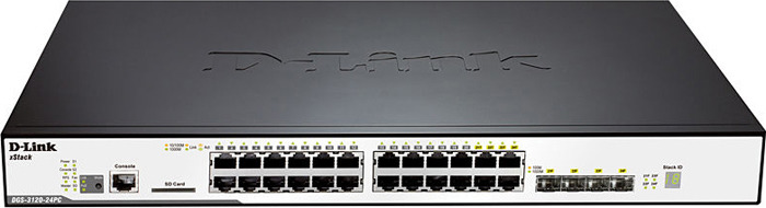 Коммутатор D-Link, DGS-3120-24PC/B1AEI