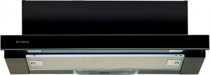 Вытяжка встраиваемая Faber Flox BK A60, черный