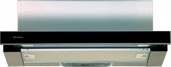 Вытяжка встраиваемая Faber Flox GLASS BK A60, черный