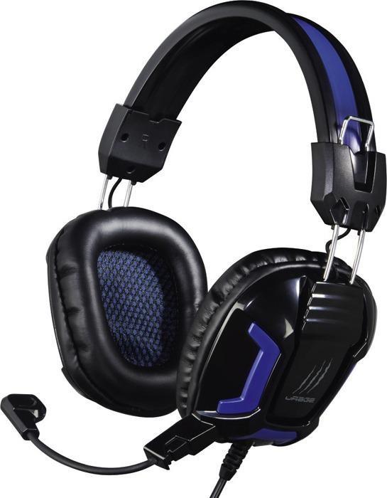 Наушники Hama uRage SoundZ Essentia, с микрофоном, черный