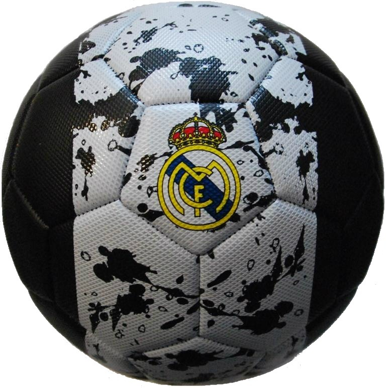 Фото - Мяч футбольный FC REAL MADRID RM001, разноцветный meike fc 100 for nikon canon fc 100 macro ring flash light nikon d7100 d7000 d5200 d5100 d5000 d3200 d310