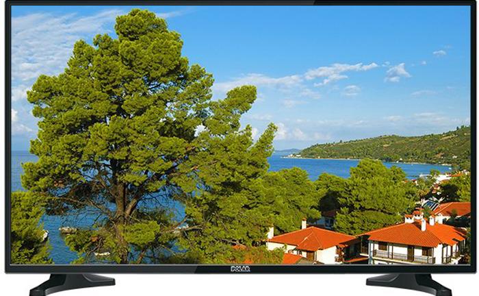 Телевизор P32L32 32, черный телевизор polar p49l21t2c 49