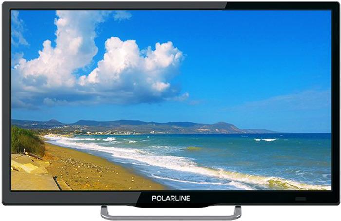 Телевизор Polarline 22PL12TC 22, черный телевизор акай отзывы кто производитель
