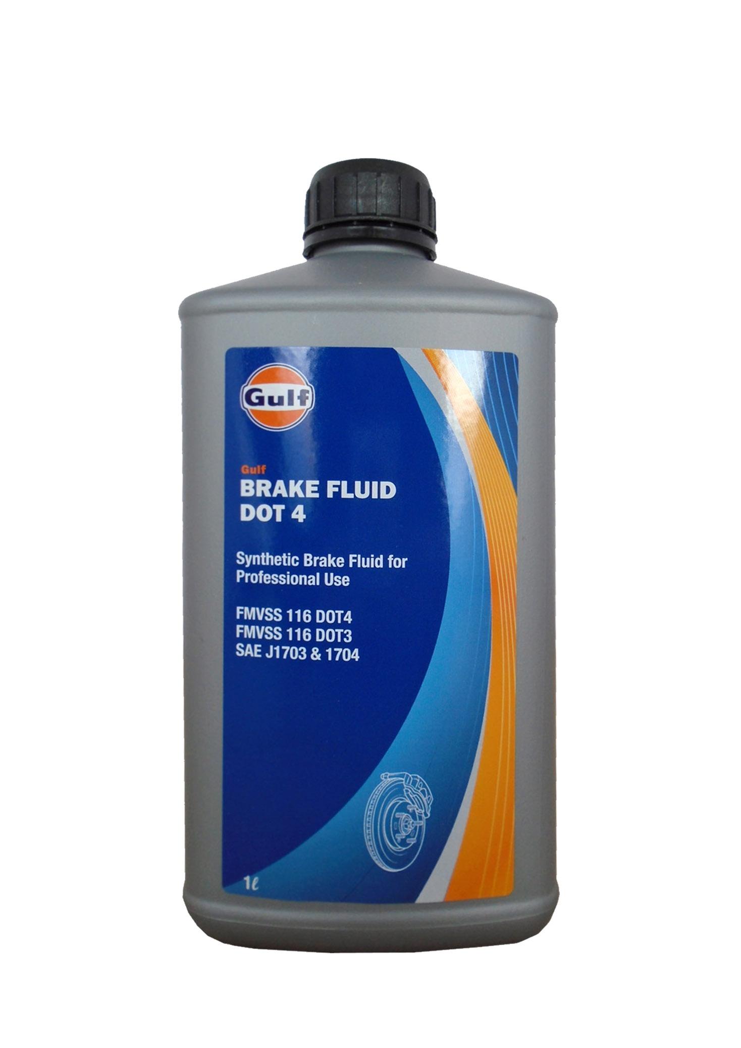 Тормозная жидкость GULF с