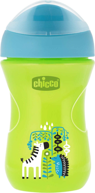 Поильник Chicco Easy Cup (носик ободок) зеленый