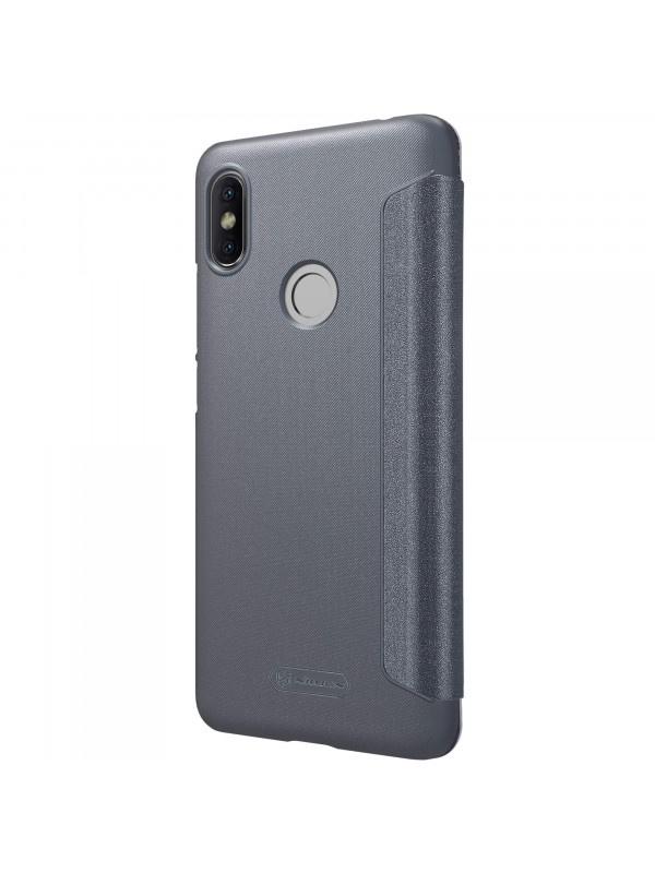 Чехол для сотового телефона Nillkin Книжка Sparkle Xiaomi Redmi S2 Black, черный