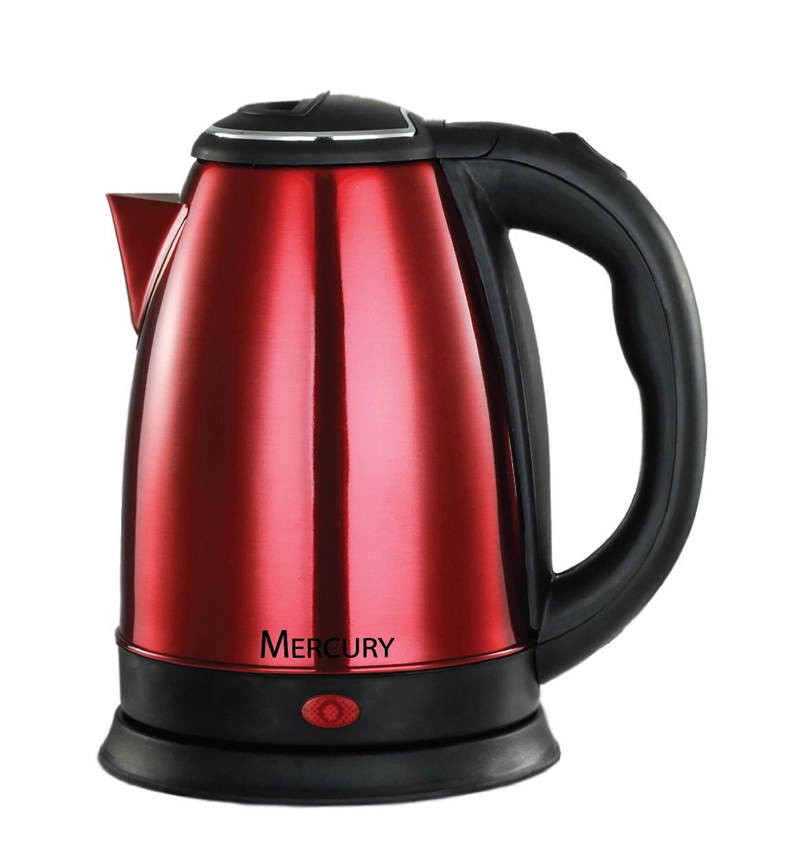 Электрический чайник Mercury Haus MC-6623, красный электрический чайник mercury haus mercury mc 6621