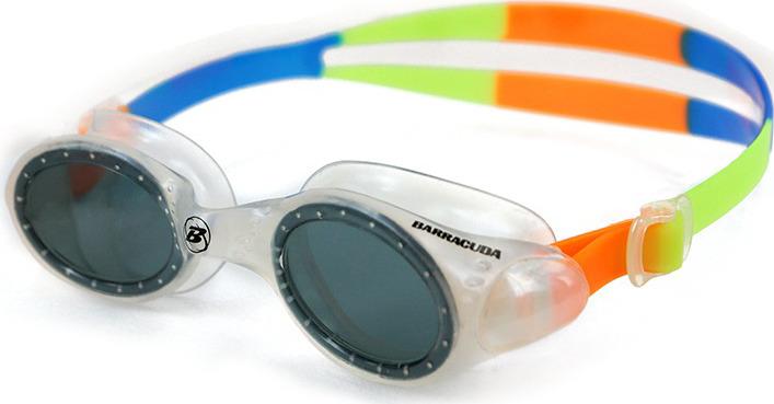 Очки для плавания Barracuda Uviolet, 33620, серый, оранжевый цена