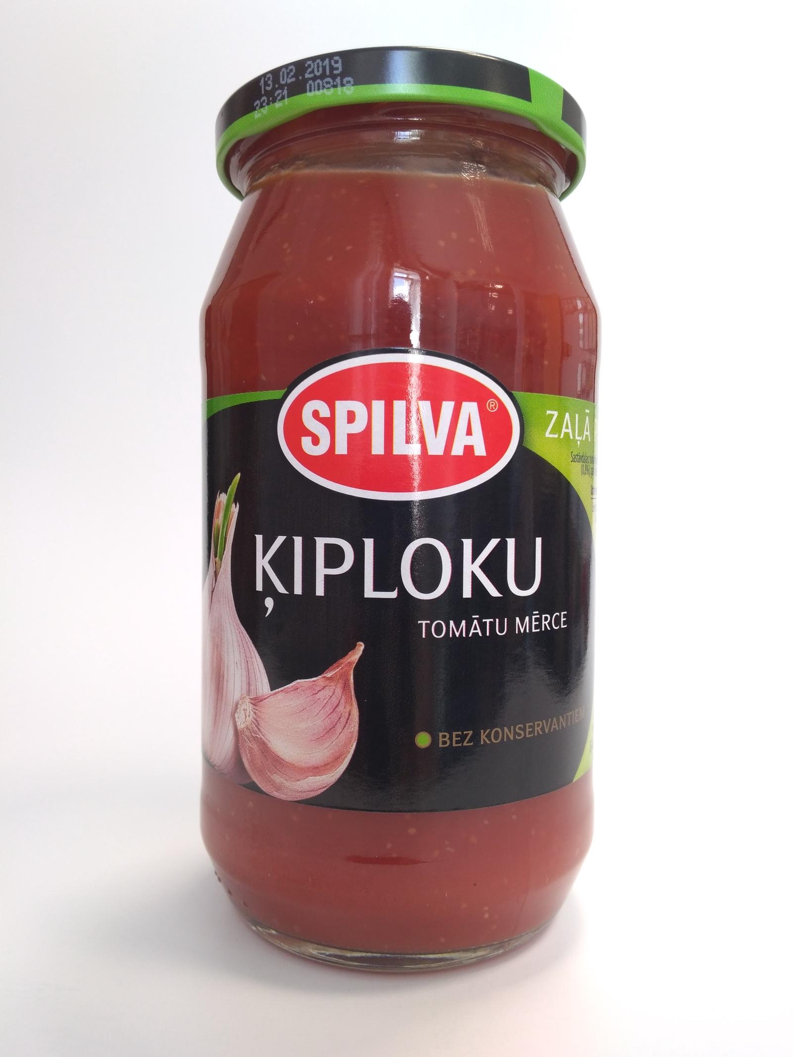 Соус Spilva Чесночный томатный, 510 romeo rossi соус томатный для пасты овощной 350 г