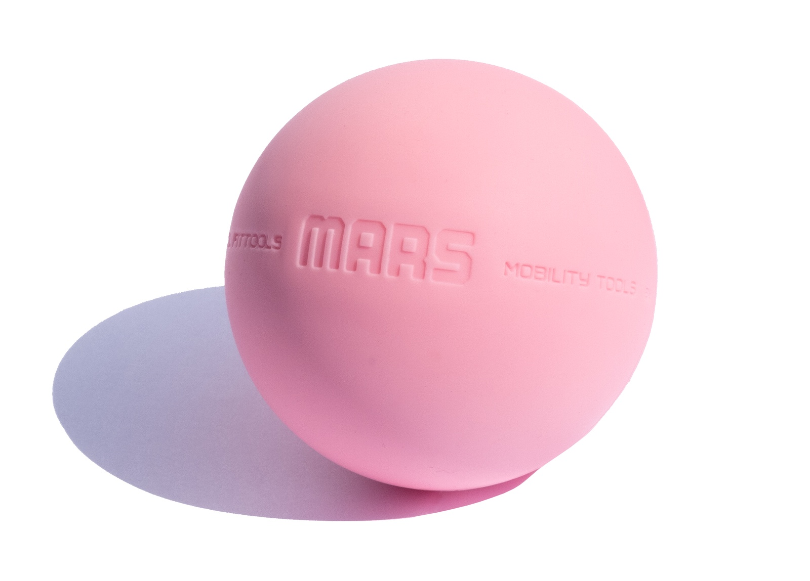 Мяч массажный Original FitTools FT-MARS, розовый цена
