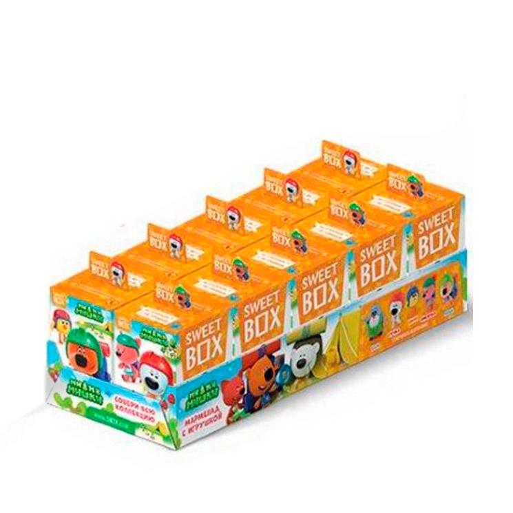 """Сладкий набор с игрушкой Sweet Box """"Ми-Ми-Мишки"""" ( Коллекция 3 - Туристы) 10 шт по 10 г"""