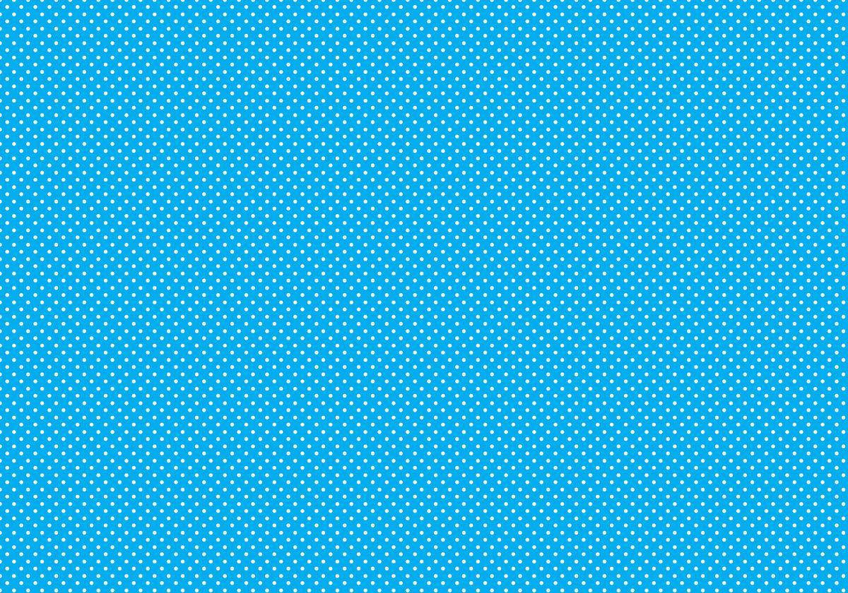"""Упаковочная бумага Бриз """"Белый горох на синем"""", 1188-007, голубой, 70 х 100 см"""