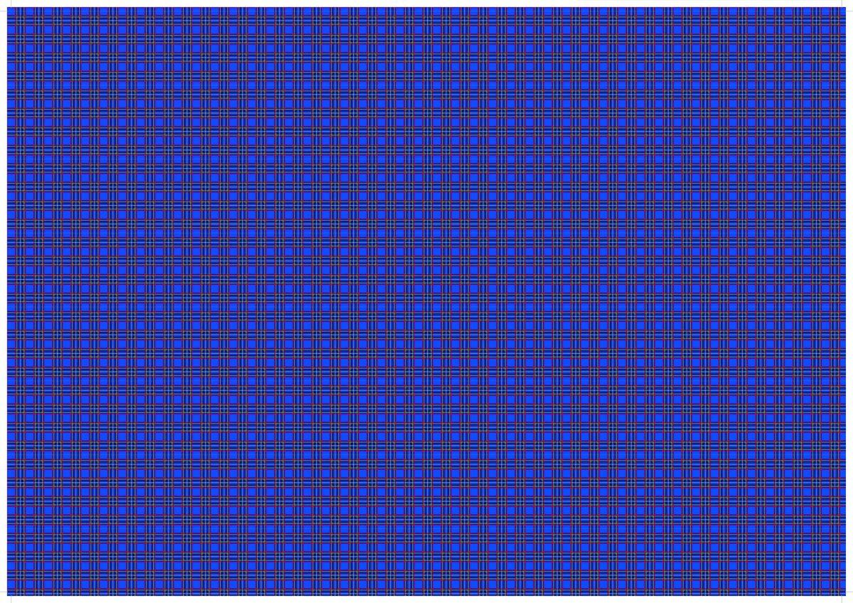 """Упаковочная бумага Бриз """"Фиолетовая клетка"""", 1188-002, фиолетовый, 70 х 100 см"""