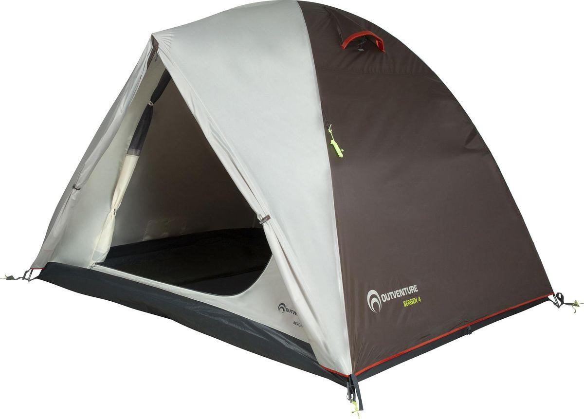 Палатка Outventure Bergen 4, S19EOUOT014-T1, бежевый