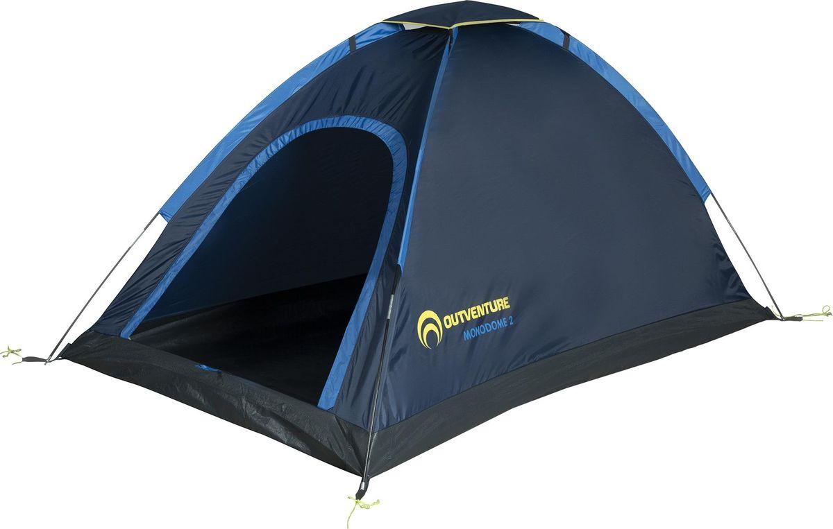 Палатка Outventure Monodome 2, S19EOUOT030-Z3, темно-синий outventure стул outventure