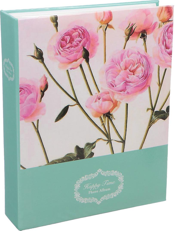 Фотоальбом Розовые пионы, 3217508, мультиколор, на 200 фото, 23 х 18 х 5,5 см