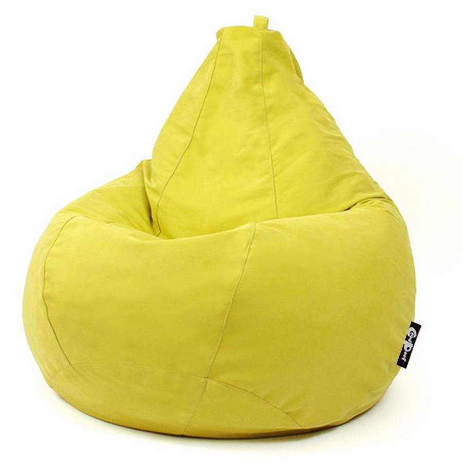 Кресло-мешок GoodPoof Груша XXL, желтыйKM - J - CitrusКресло-мешок Груша Оксфорд, благодаря универсальному цвету легко впишется в интерьер дачного дома, веранды, зоны отдыха, да и просто станет незаменимый помощником при переезде на новое место. Ткань оксфорд обладает непромокаемыми свойствами и легко поддаётся чистке, такое кресло можно использовать как внутри помещений, так и на свежем воздухе. Кресло мешок снабжено:прочным и дышащим внутренним чехлом,системой защиты от детей,системой крепления внутреннего чехла к внешнему,системой воздухоотведения!На кресло-мешок действует производственная гарантия 1 год! В качестве наполнителя мы используем только гипоалергенное финское сырье премиального качества, гранулы 1-3 мм. Наш наполнитель не токсичен, поэтому не имеет неприятного запаха!Качество и безопасность наших кресел-мешков подтверждено Сертификатами.