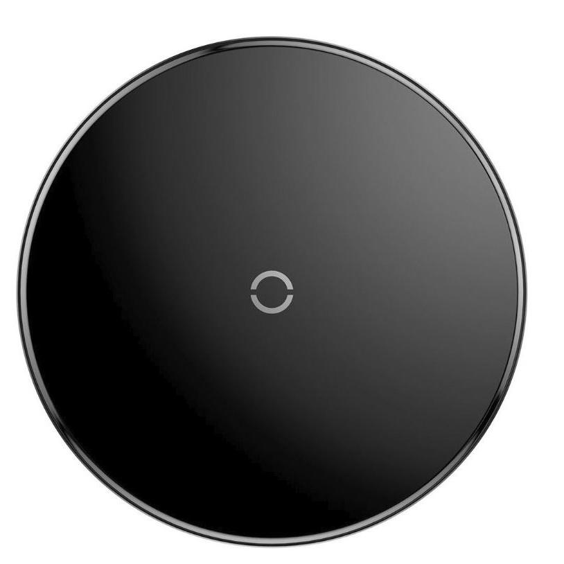 Фото - Беспроводное зарядное устройство Baseus Simple wireless charger, черный беспроводное зарядное устройство baseus simple wireless charger черный